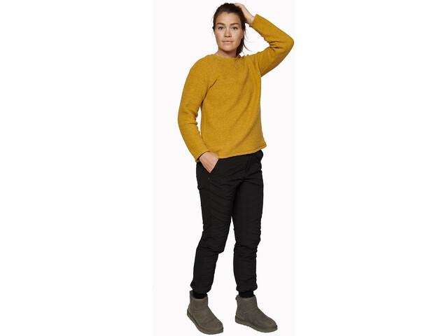 Varg Fårö Jerser de Lana Mujer, mustard gold